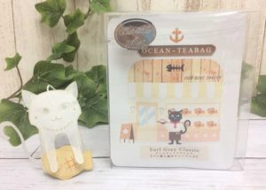 パン職人の猫のティーバッグ