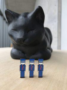 黒ネコT and 警備員ピンバッジ